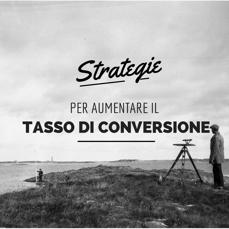 strategie tasso di conversione