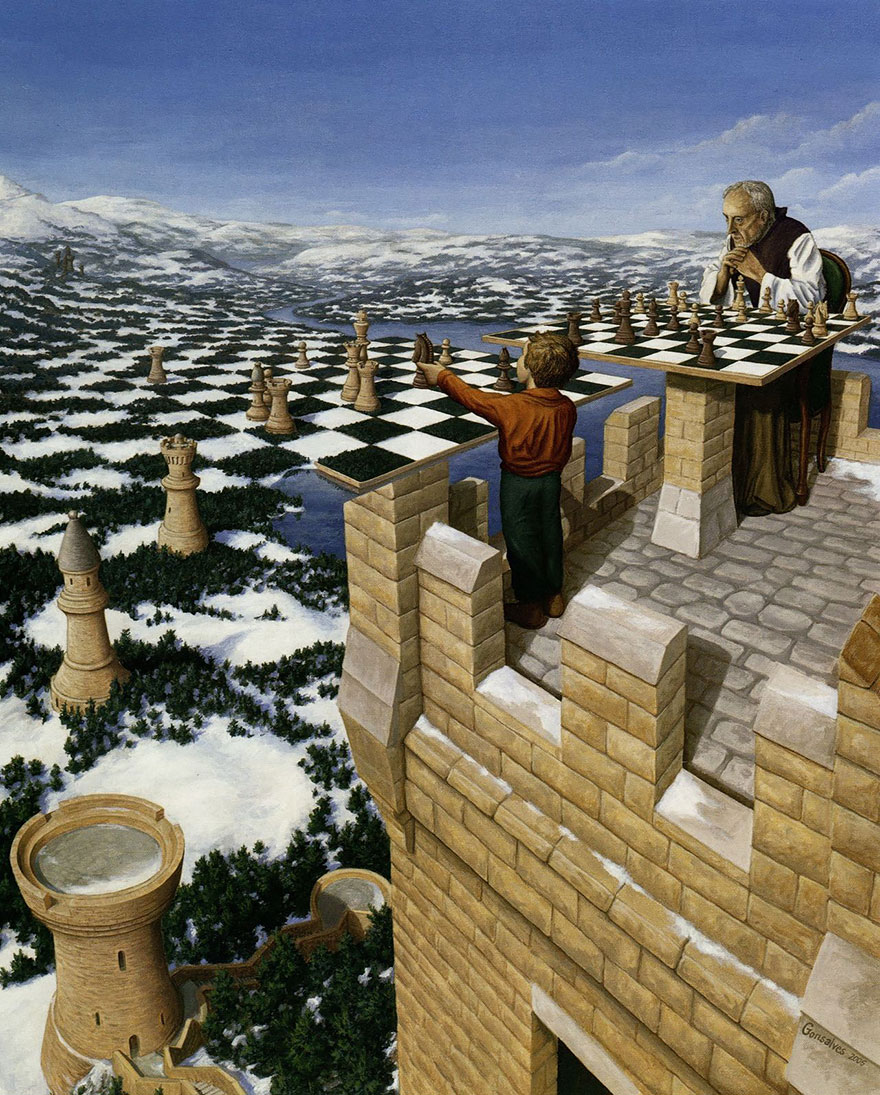 Rob Gonsalves - Chess Master