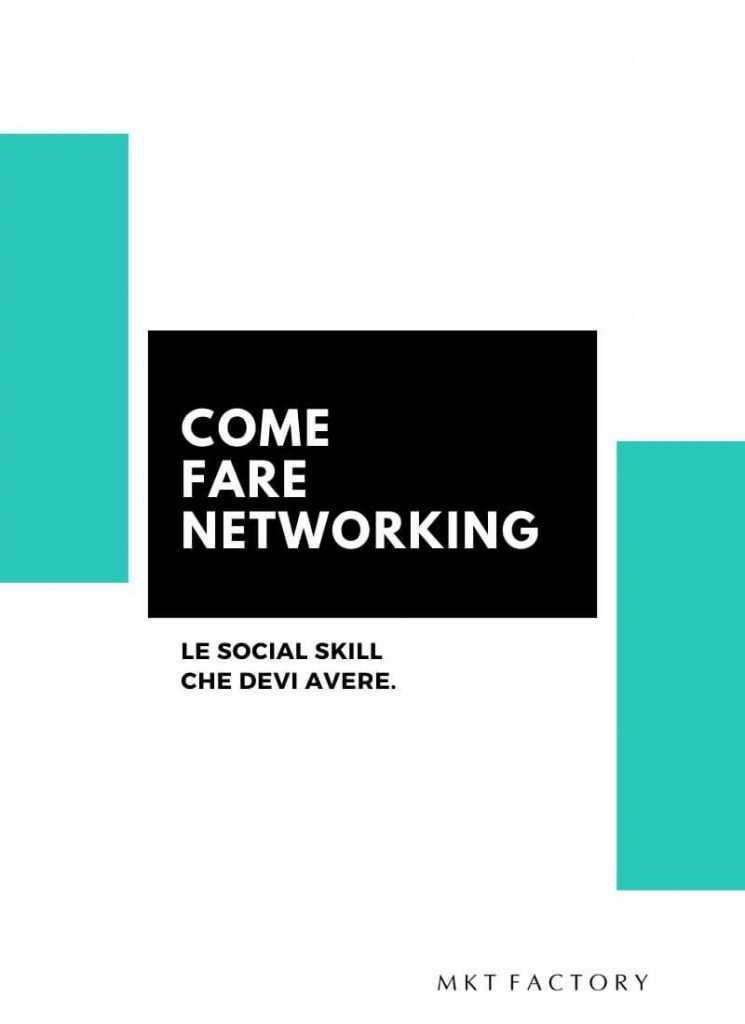 come fare networking