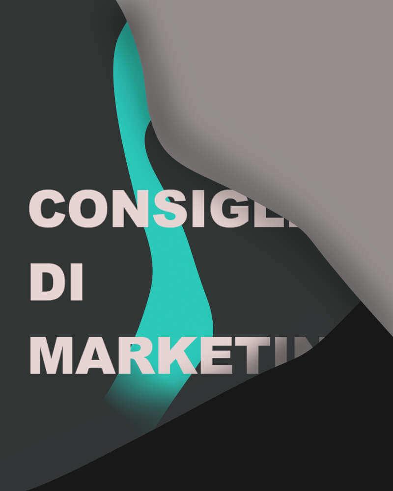 consigli di marketing